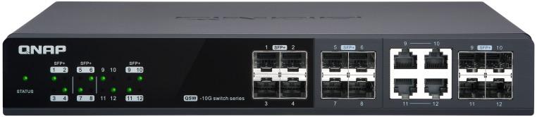 QNAP QSW M1204 4C 2020 - QNAP lance 3 switches administrables Multi-Gig : QSW-M1204-4C, QSW-M1208-8C et QSW-M804-4C