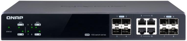 QNAP QSW M804 4C 2020 - QNAP lance 3 switches administrables Multi-Gig : QSW-M1204-4C, QSW-M1208-8C et QSW-M804-4C