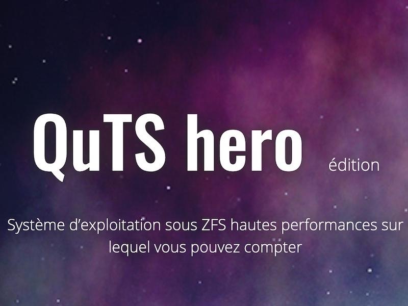 QuTS hero - NAS - On vous explique QuTS hero