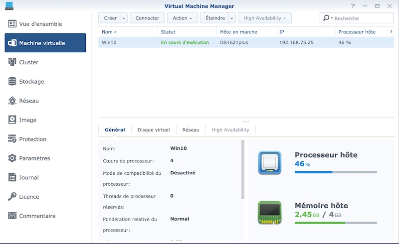 Synology virtualiser Win10 2020 - NAS - Test du Synology DS1621+, la nouvelle référence...