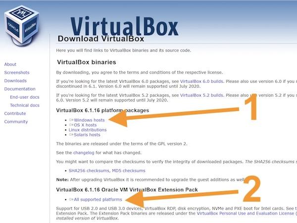 VirtualBox download 2021 - VirtualBox - macOS Big Sur sur votre PC Windows
