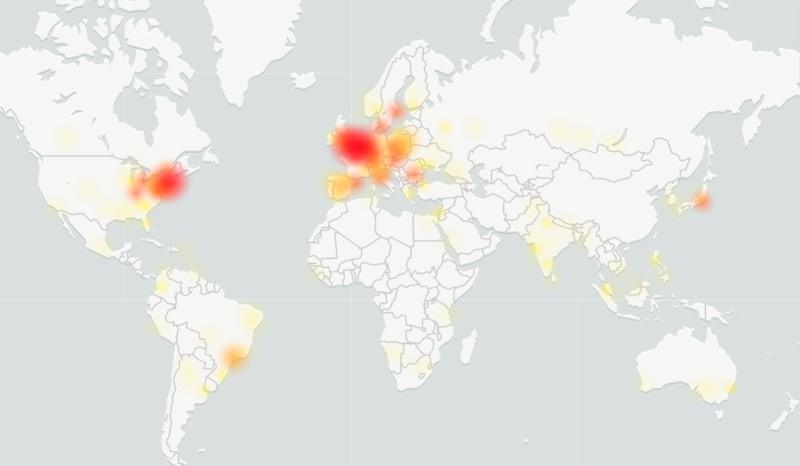 downdetector 2020 - Problèmes chez Google  (Gmail, YouTube, Maps…)