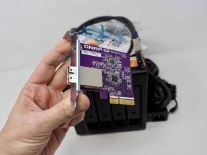QXP 400eS A1164 300x225 - Test du QNAP TL-D400S (extension de stockage haute performance)