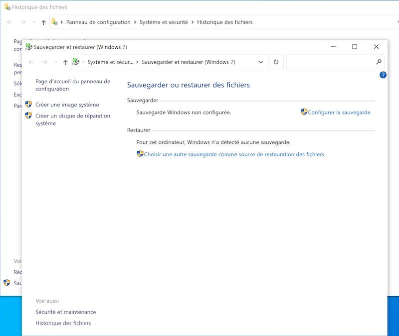 Sauvegarde image systeme Win10 2021 - Sauvegarder une image système de Windows sur un NAS Synology, QNAP... (Ghost)