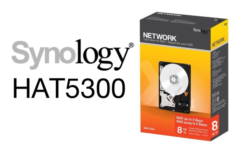 Synology HAT5300 2021 770x513 - NAS - Synology va proposer ses propres disques durs (HAT5300)