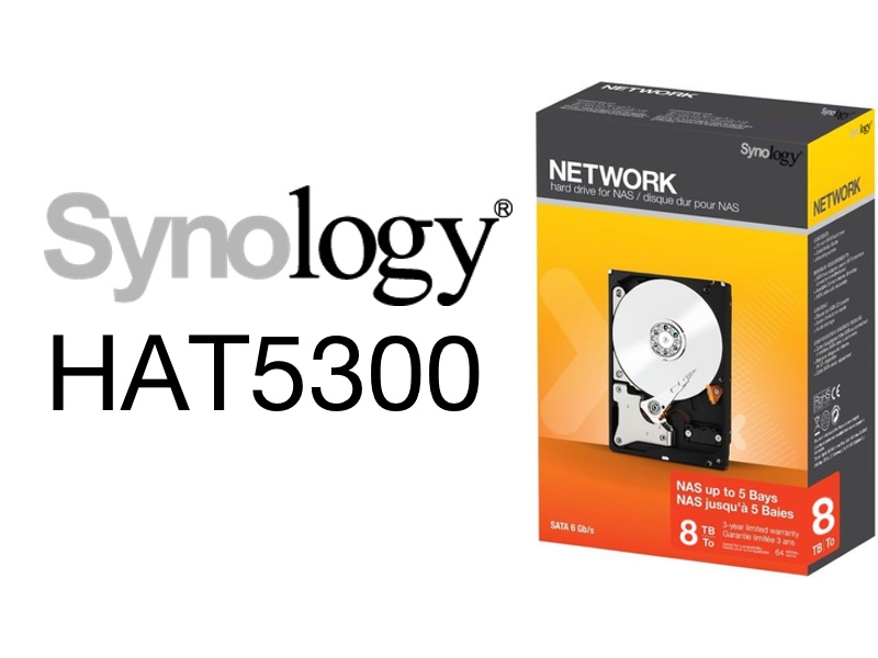 Synology HAT5300 2021 - NAS - Synology va proposer ses propres disques durs (HAT5300)