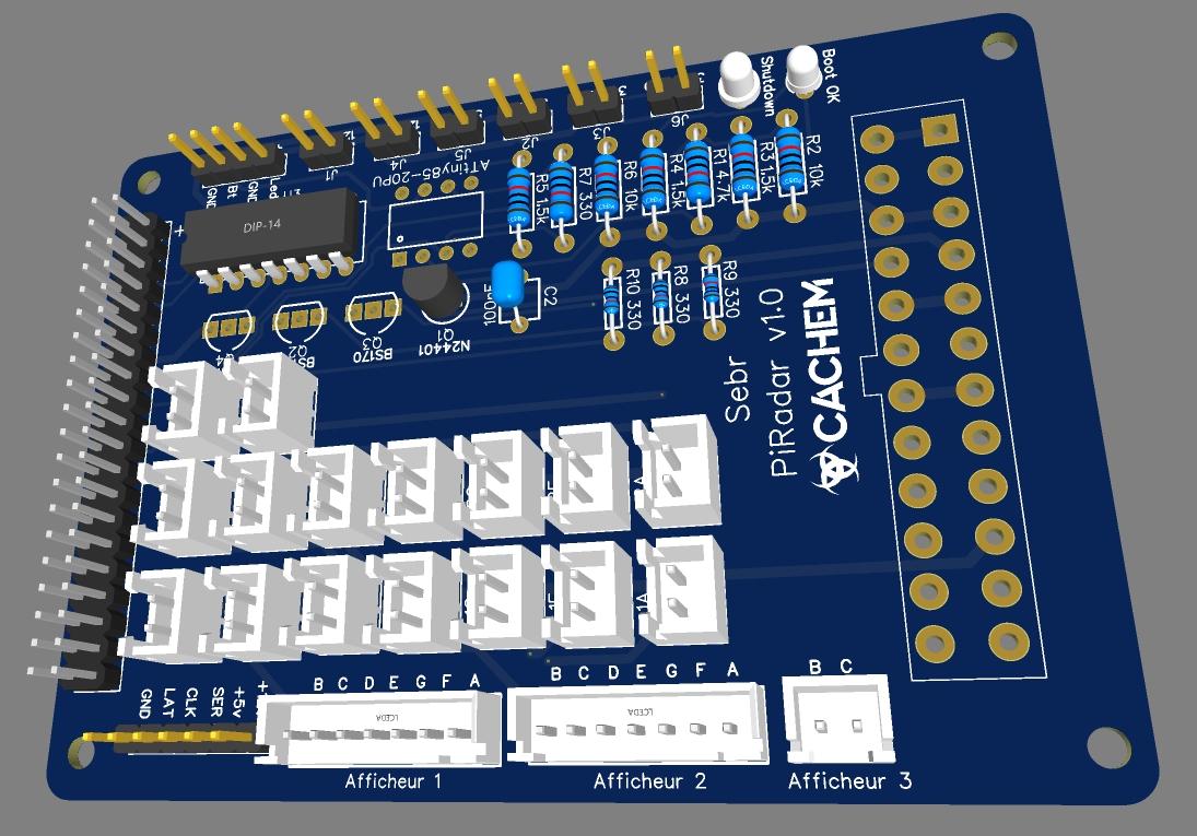 eda pcb 19 - Créer un circuit imprimé facilement avec EasyEDA et JLCPCB