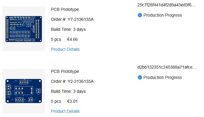 eda pcb 2 1 - Créer un circuit imprimé facilement avec EasyEDA et JLCPCB