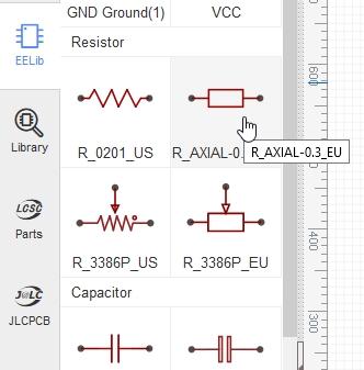 eda pcb 4 - Créer un circuit imprimé facilement avec EasyEDA et JLCPCB
