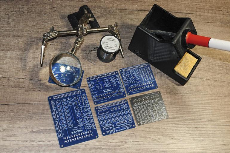 eda pcb 7 770x513 - Créer un circuit imprimé facilement avec EasyEDA et JLCPCB