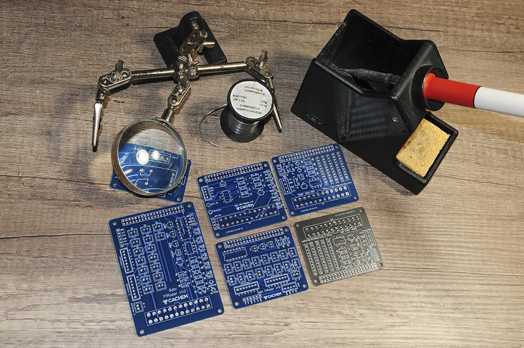 eda pcb 7 - Créer un circuit imprimé facilement avec EasyEDA et JLCPCB