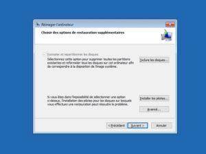 formater pilotes Win10 300x225 - Sauvegarder une image système de Windows sur un NAS Synology, QNAP... (Ghost)