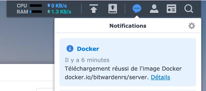 notification docker DSM synology - Synology - Mettre à jour son conteneur Docker (DSM 6.x et DSM 7.x)