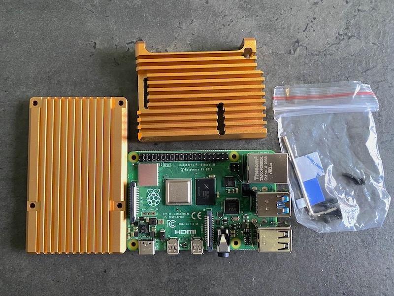 pi4 dissipateur 2021 - Raspberry Pi 4 : boitier, température et Wi-Fi