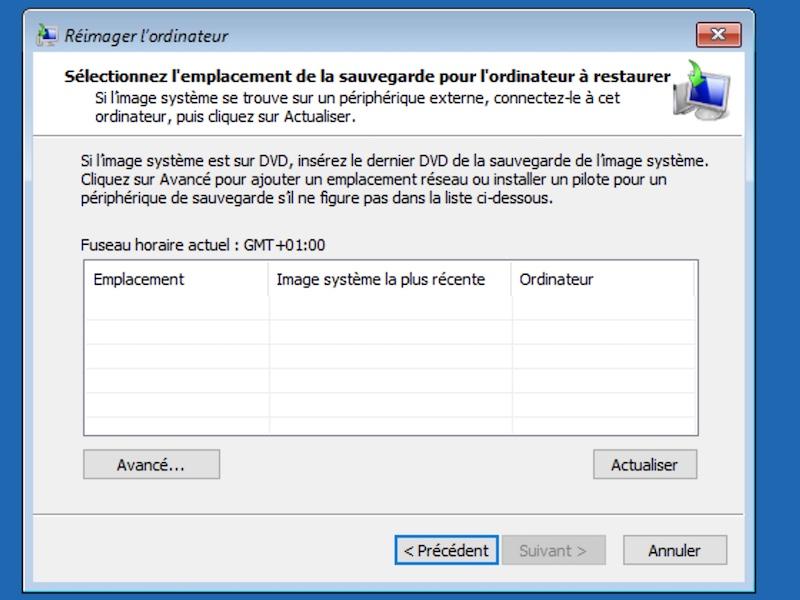 reimager ordinateur - Sauvegarder une image système de Windows sur un NAS Synology, QNAP... (Ghost)