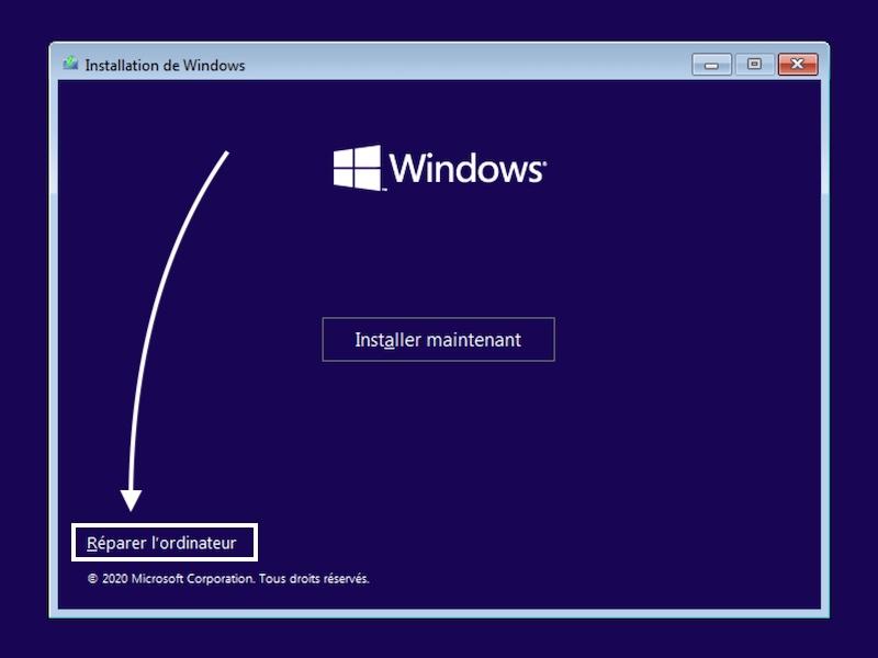 reparer windows - Sauvegarder une image système de Windows sur un NAS Synology, QNAP... (Ghost)