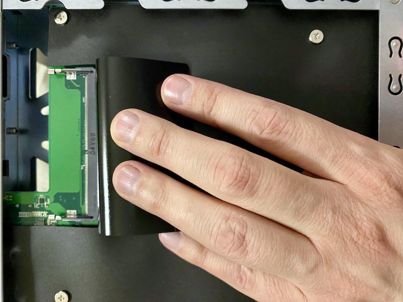 AS6604T RAM 2021 - NAS - Test ASUSTOR AS6604T : 4 baies et Multi-Gig