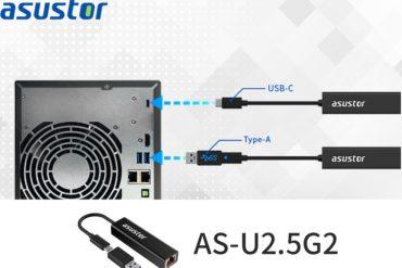 ASUSTOR AS U2.5G2 2021 NAS 370x247 - ASUSTOR AS-U2.5G2 : l'adaptateur USB/Multi-Gig à 48€