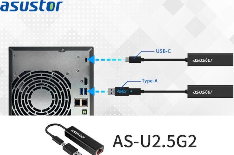 ASUSTOR AS U2.5G2 2021 NAS 770x513 - ASUSTOR AS-U2.5G2 : l'adaptateur USB/Multi-Gig à 48€