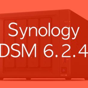 DSM 624 293x293 - NAS – Synology DSM 6.2.4 est disponible pour tous
