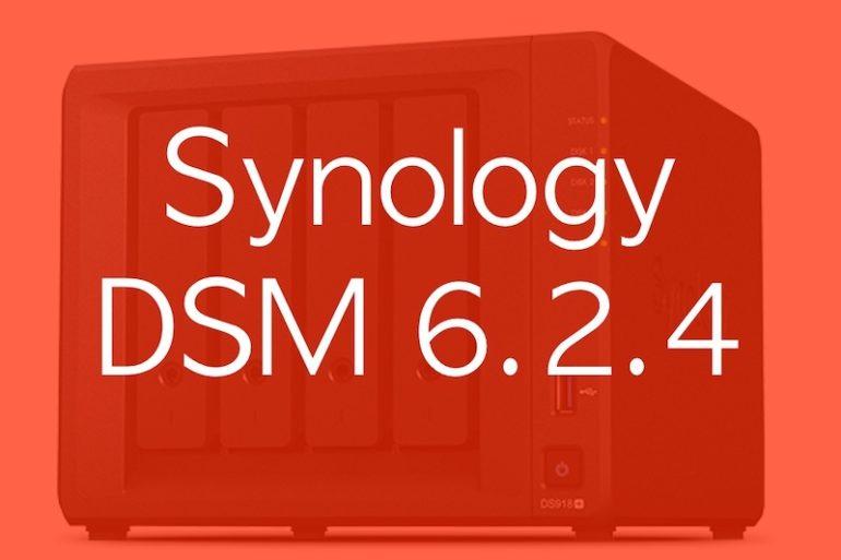 DSM 624 770x513 - NAS - Synology DSM 6.2.4-25556 est disponible... et comporte 2 corrections