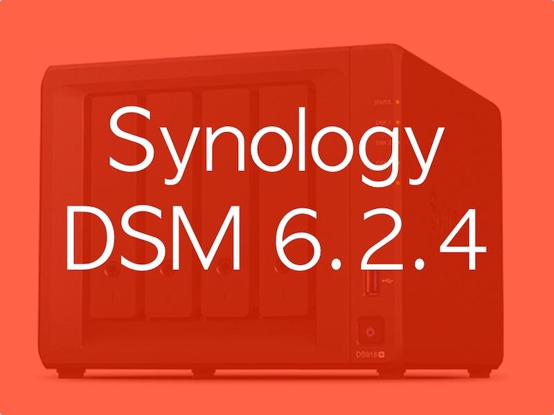 DSM 624 - NAS - Synology DSM 6.2.4-25556 est disponible... et comporte 2 corrections