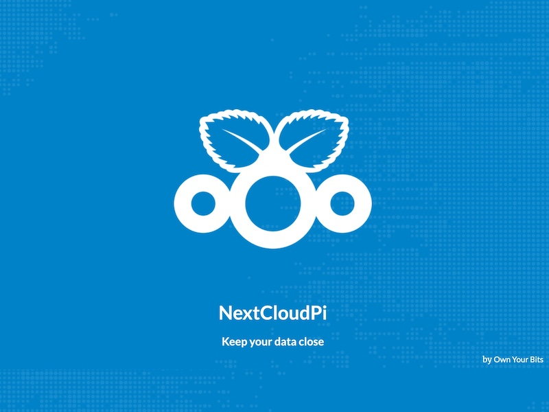 NextCloudPi - NextCloudPi = Nextcloud + Raspberry Pi