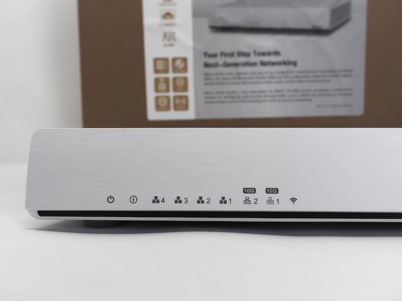 QNAP 301W - Test du QNAP QHora-301W : Wi-Fi 6, 2 ports 10 GbE, SD-WAN