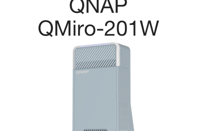QNAP QMiro 201W 770x513 - QNAP QMiro-201W : Routeur mesh tri-bande, WiFi 5, SD-WAN