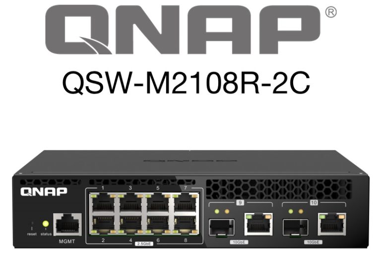QNAP QSW-M2108R-2C