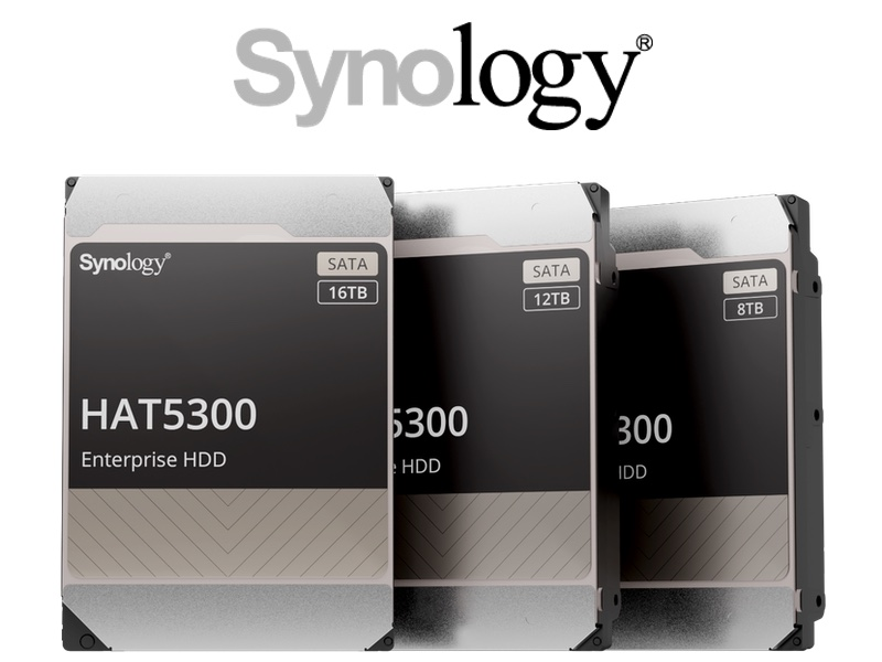 Synology HAT5300 2021 - Synology lance ses disques HAT5300 : 8 To, 12 To et 16 To