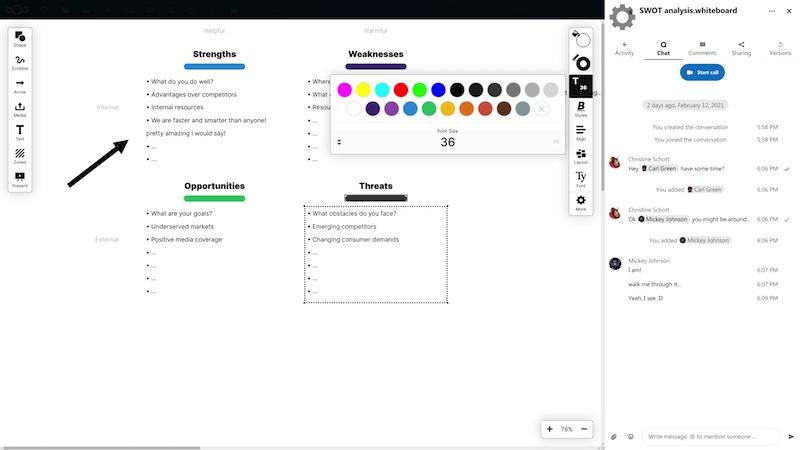 Whiteboard Nextcloud 21 - Nextcloud 21 est disponible : performances jusqu'à 10 fois supérieures