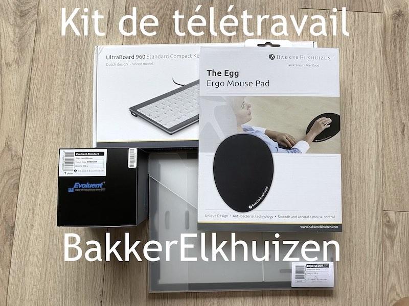 kit BakkerElkhuizen 2021 - Kit de télétravail BakkerElkhuizen à partir de 192€...