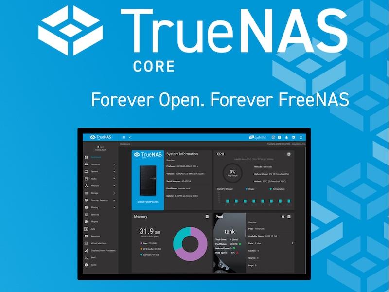 truenas 2021 - TrueNAS : Toujours le meilleur du NAS gratuit