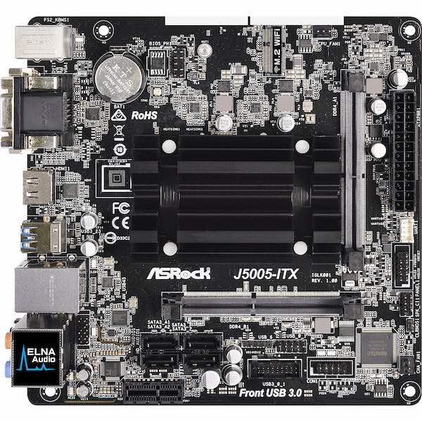 ASRock J5005 ITX - NAS DIY 4 baies à 300€ : Plex, 4K, Docker, virtualisation...