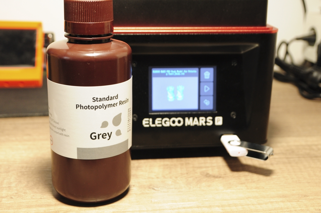 Elegoo mars p 28 - Impression 3D SLA avec Elegoo Mars Pro