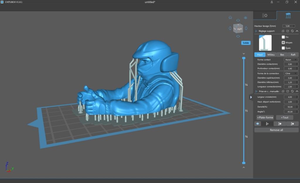 Elegoo mars p 33 - Impression 3D SLA avec Elegoo Mars Pro