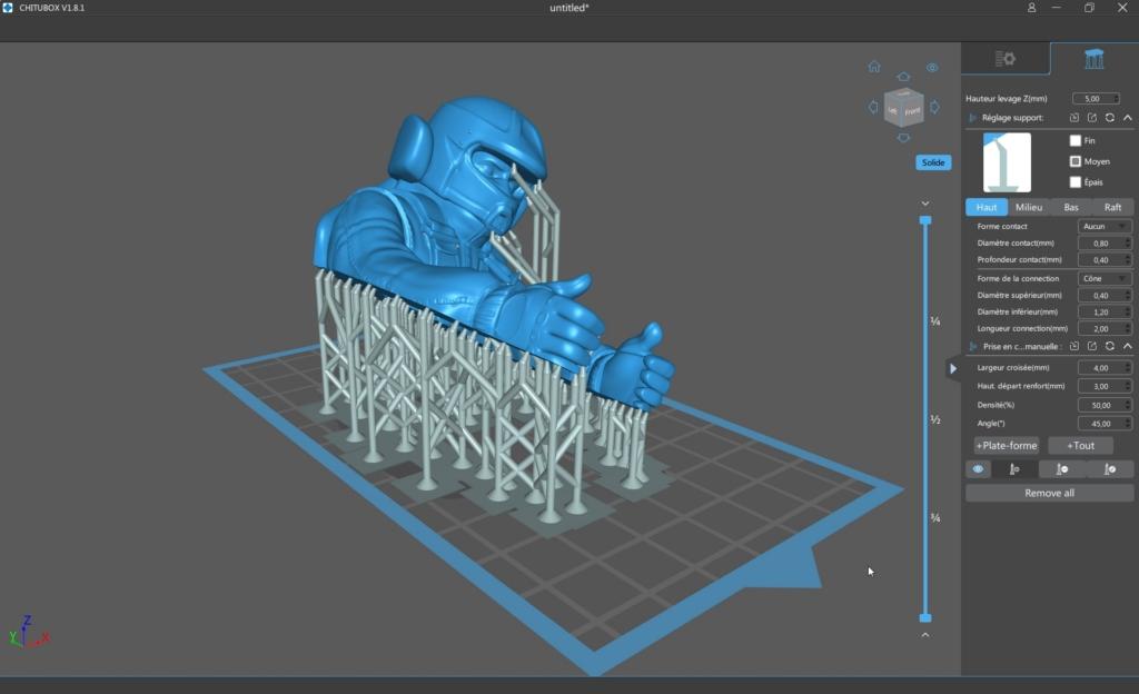 Elegoo mars p 38 - Impression 3D SLA avec Elegoo Mars Pro