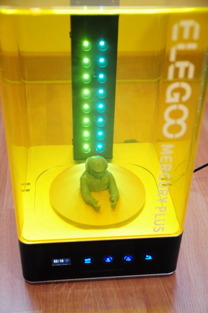 Elegoo mars p 46 - Impression 3D SLA avec Elegoo Mars Pro