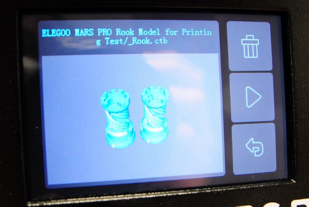 Elegoo mars p 5 - Impression 3D SLA avec Elegoo Mars Pro
