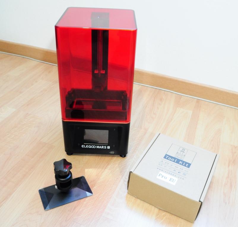 Elegoo mars p 6 - Impression 3D SLA avec Elegoo Mars Pro