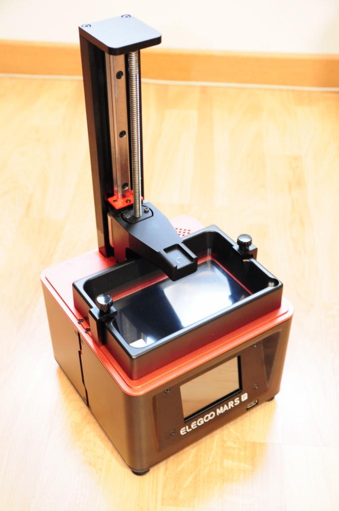Elegoo mars p 7 - Impression 3D SLA avec Elegoo Mars Pro
