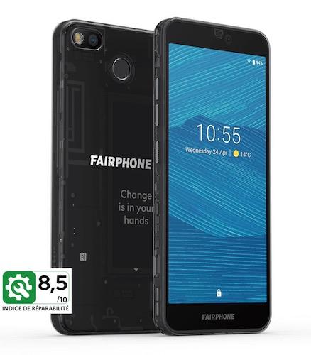 FairFone3 - Réparabilité des smartphones et tablettes