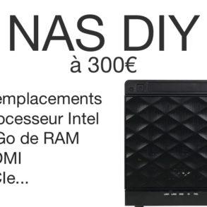 NAS DIY 300 euros 293x293 - NAS DIY 4 baies à 300€ : Plex, 4K, Docker, virtualisation...