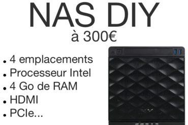 NAS DIY 300 euros 370x247 - NAS DIY 4 baies à 300€ : Plex, 4K, Docker, virtualisation...