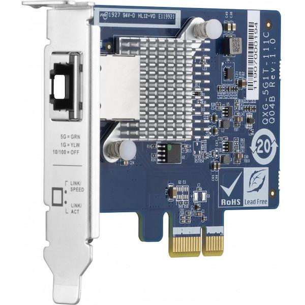 QNAP QXG 5G1T 111C - NAS DIY 4 baies à 300€ : Plex, 4K, Docker, virtualisation...
