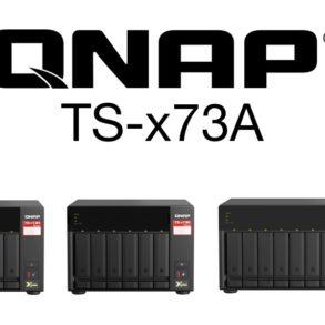 QNAP TS x73A 293x293 - NAS - QNAP lance la gamme TS-x73A : AMD Ryzen, Multi-Gig, PCIe, SSD M.2 NVMe...