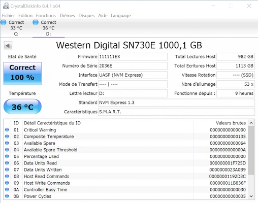 SanDisk Extreme Pro crystal - Test SanDisk Extreme Pro Portable SSD 1 To (2e génération)