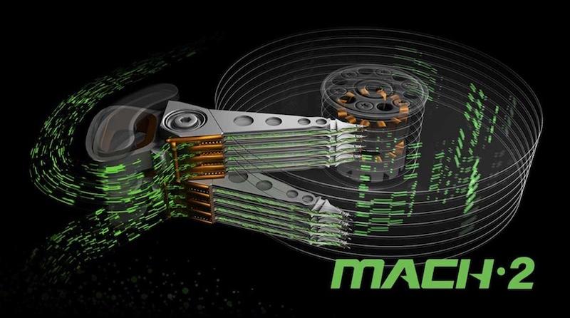 Seagate mach.2 - Disque dur - Seagate 100 To pour 2030 et même 120 To en...