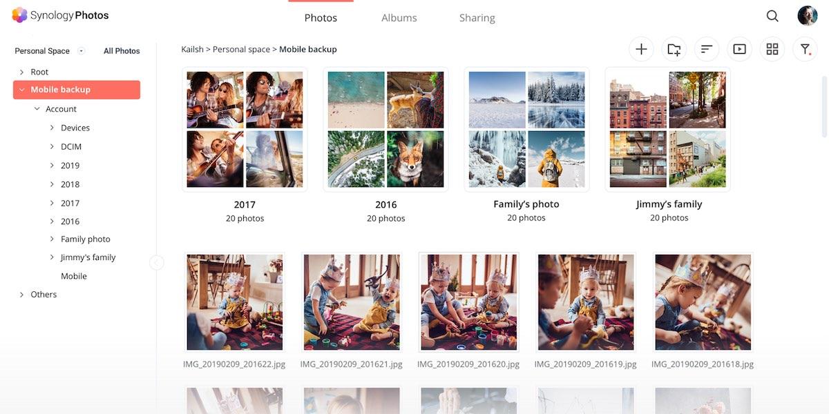 Synology Photos - Alternatives à Google Photos avec un NAS Synology